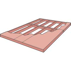 HHS19450-4 - Handy Home ProductsCombination Floor Kit - 8' x 8' or 10' x 8'