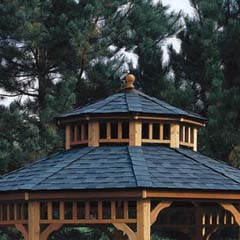 HHS19939-4 - Handy Home ProductsSan Marino 10' Gazebo - Second Tier Roof