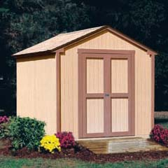 HHS18276-1 - Handy Home ProductsKingston - 8' x 8' Storage Building With Floor Kit