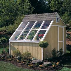 HHS18147-4 - Handy Home ProductsPhoenix Solar Shed 10 x 8