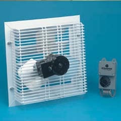 HHS18153-5 - Handy Home ProductsPhoenix Power Fan With Thermostat