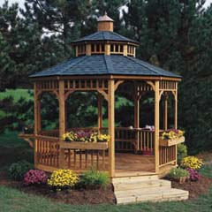 HHS19944-8 - Handy Home ProductsSan Marino 10 Round Gazebo