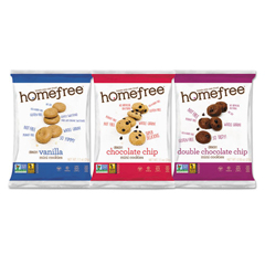 HMF01305 - Homefree® Gluten Free Mini Cookies Variety Pack
