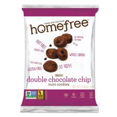 HMF01948 - Homefree® Gluten Free Double Chocolate Chip Mini Cookies
