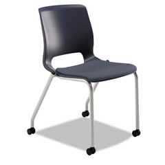 HONMG201CU90 - Motivate 4-Leg Stack Chair Upholstered Seat - Set of 2