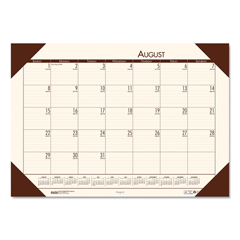 HOD012541 - House of Doolittle™ EcoTones® 100% Recycled Academic Desk Pad Calendar