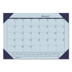 HOD012573 - House of Doolittle™ EcoTones® 100% Recycled Academic Desk Pad Calendar