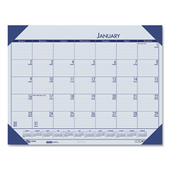 HOD12440 - House of Doolittle™ EcoTones® 100% Recycled Monthly Desk Pad Calendar