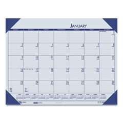 HOD124640 - House of Doolittle™ EcoTones® 100% Recycled Monthly Desk Pad Calendar