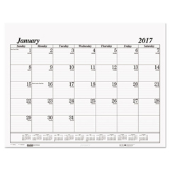 HOD126 - House of Doolittle™ 100% Recycled One-Color Dated Monthly Desk Pad Calendar Refill