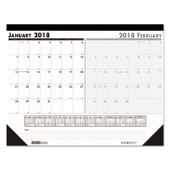 HOD1346 - House of Doolittle™ 100% Recycled Two-Month Desk Pad Calendar