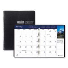 HOD26402 - House of Doolittle™ Earthscapes™ 100% Recycled Full-Color Ruled Monthly Planner
