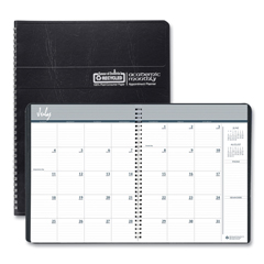 HOD26502 - House of Doolittle™ 14-Month 100% Recycled Ruled Monthly Planner