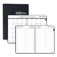 HOD289632 - House of Doolittle™ 24/7 100% Recycled Daily Appointment Book/Monthly Planner