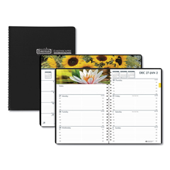HOD294632 - House of Doolittle™ Earthscapes™ 100% Recycled Gardens of the World Weekly/Monthly Planner