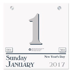 HOD311 - House of Doolittle™ 100% Recycled Today Wall Calendar Refill