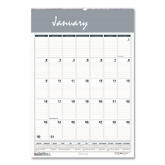 HOD331HD - House of Doolittle™ Bar Harbor 100% Recycled Wirebound Monthly Wall Calendar