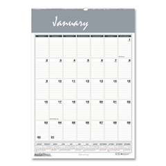 HOD332 - House of Doolittle™ Bar Harbor 100% Recycled Wirebound Monthly Wall Calendar