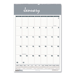 HOD334 - House of Doolittle™ Bar Harbor 100% Recycled Wirebound Monthly Wall Calendar