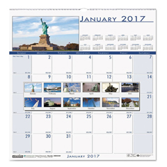 HOD3439 - House of Doolittle™ Earthscapes™ 100% Recycled National Monuments Wall Calendar