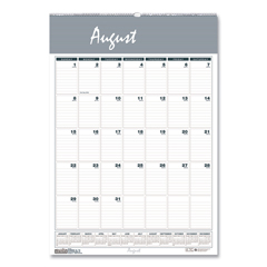 HOD353 - House of Doolittle™ Bar Harbor 100% Recycled Wirebound Monthly Wall Calendar