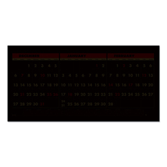 HOD3648 - House of Doolittle™ 100% Recycled Three-Month Format Wall Calendar