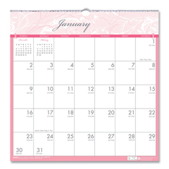 HOD3671 - House of Doolittle™ Breast Cancer Awareness 100% Recycled Monthly Wall Calendar
