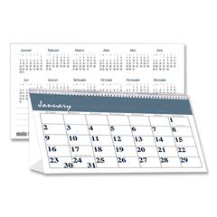 HOD3679 - House of Doolittle™ Bar Harbor 100% Recycled Desk Tent Monthly Calendar