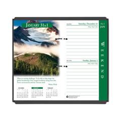 HOD417 - Earthscapes Desk Calendar Refill, 3 1/2 x 6, 2020