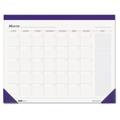 HOD464 - House of Doolittle™ Recycled Nondated Desk Pad Calendar