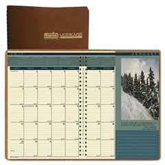 HOD524 - House of Doolittle™ Landscapes™ 100% Recycled Full-Color Ruled Monthly Planner