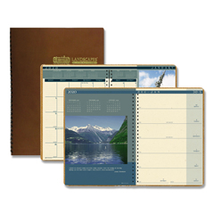 HOD528 - House of Doolittle™ Landscapes™ 100% Recycled Weekly/Monthly Planner