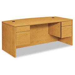 HON10595CC - HON® 10500 Series Bow Front Double Pedestal Desk