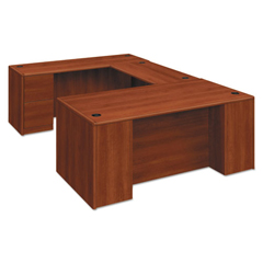 HON10787RCO - HON® 10700 Series™ Single Pedestal Desk with Full-Height Pedestal on Right
