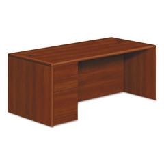 HON10788LCO - HON® 10700 Series™ Single Pedestal Desk with Full-Height Pedestal on Left
