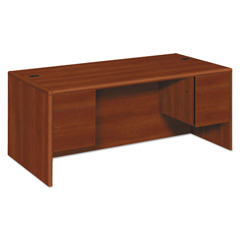 HON10791CO - HON® 10700 Series™ Double Pedestal Desk with Three-Quarter Height Pedestals