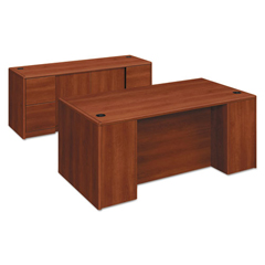HON10799CO - HON® 10700 Series™ Double Pedestal Desk with Full-Height Pedestals