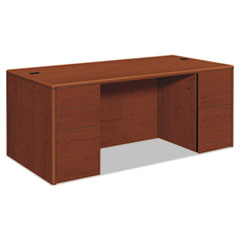 HON10799JJ - HON® 10700 Series Double Pedestal Desk with Full-Height Pedestals