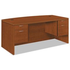 HON11595ACHH - HON® Valido® 11500 Series Bow Front Double Pedestal Desk