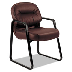 HON2093SR69T - HON® 2090 Pillow-Soft® Series Leather Guest Arm Chair