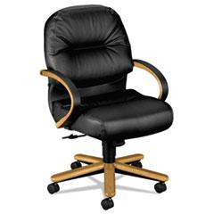 HON2192CSR11 - HON® 2190 Pillow-Soft® Wood Series Managerial Mid-Back Swivel/Tilt Chair