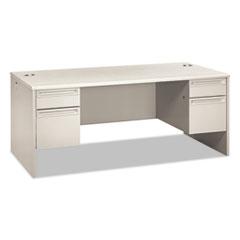 HON38180QQ - HON® 38000 Series Double Pedestal Desk