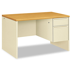 HON38251CL - HON® 38000 Series™ Single Pedestal Desk