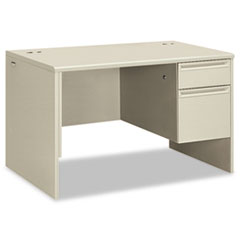 HON38251QQ - HON® 38000 Series Single Pedestal Desk