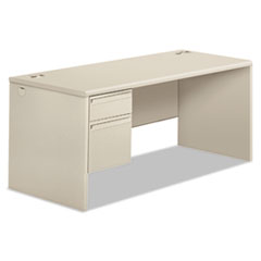 HON38292LQQ - HON® 38000 Series Single Pedestal Desk