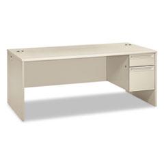 HON38293RQQ - HON® 38000 Series Single Pedestal Desk