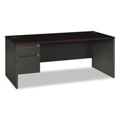 HON38294LNS - HON® 38000 Series™ Single Pedestal Desk