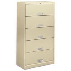 HON625CLL - HON® Brigade™ 600 Series Five-Shelf File with Receding Doors