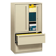 HON795LSL - HON® Brigade™ 700 Series Lateral File with Storage