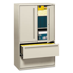 HON795LSQ - HON® Brigade™ 700 Series Lateral File with Storage